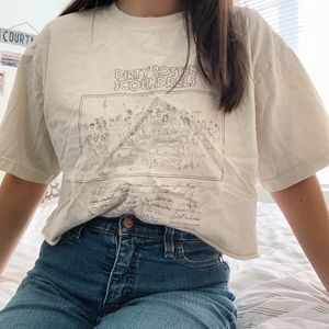 Tops - Dirty Rotten Scoundrels Cropped Tee [M]